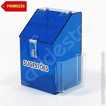 Caixa de Sugestões Promoção do Mês 0001