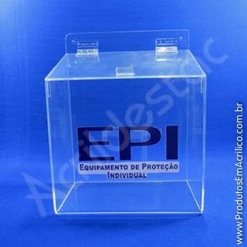 Caixa para EPI - 24,5 cm Altura