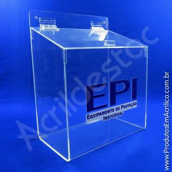 Caixa para EPI - 27,5 cm Altura