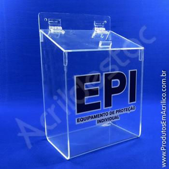 Caixa para EPI - 34,5 cm Altura