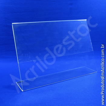 Display em acrílico Cristal modelo L