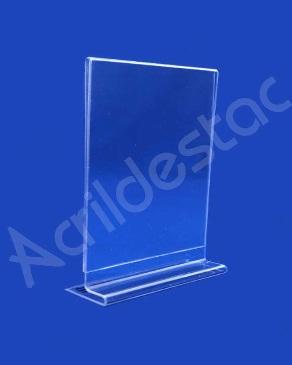 Display em acrílico Cristal modelo T invertido